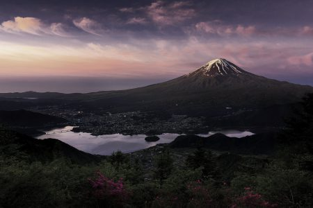 Fuji-volcano-mountain-morning