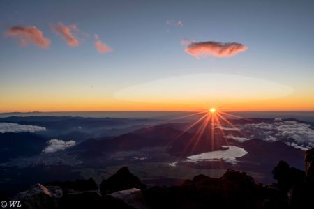 Fuji glow